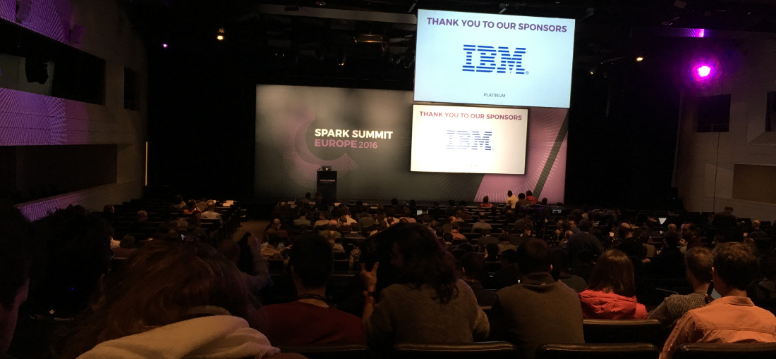 Spark Summit Europe 2016 photo